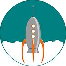 Day1-Rocket by sinycdesign