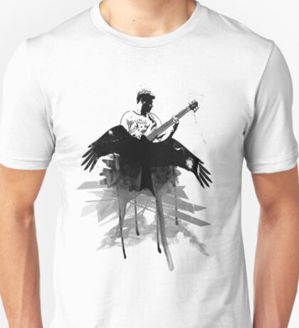 Music makes me fly... Retro - Grunge - Vintage T-Shirt