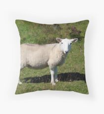 A Hill Lamb Throw Pillow