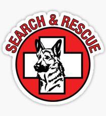 K9 Search & Rescue Sticker