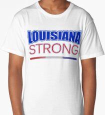 Louisiana Strong - Hurricane Harvey Survivor Relief Effort T-shirt Long T-Shirt