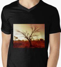 DESERT TREE Men's V-Neck T-Shirt