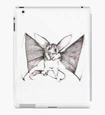 Kangaroo Bat - Detailed Ink Creature iPad Case/Skin