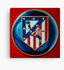 Atletico Madrid Painting Canvas Print