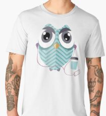 Early Bird - Geeky Owl Men's Premium T-Shirt