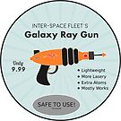 Galaxy Gun- Day 17 by sinycdesign