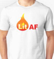 Lit AF (Red Flame) T-Shirt