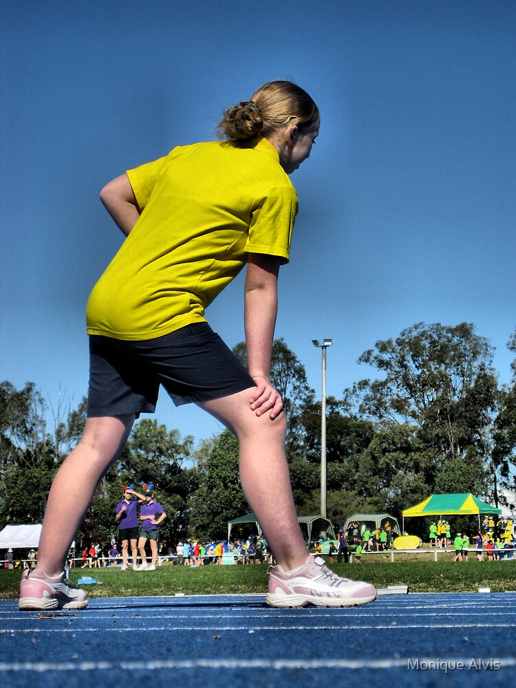 Yellow Runner by Monique Alvis