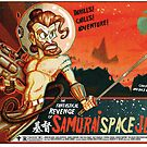 Samurai Space Jesus by stieven