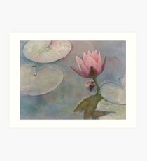 Ode to Claude Monet Art Print