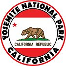 YOSEMITE NATIONAL PARK CALIFORNIA BEAR MOUNTAIN HIKING CAMPING CLIMBING 2 by MyHandmadeSigns