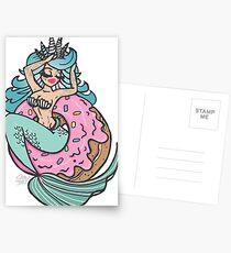 Doughnut come for me. Postcards
