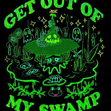 SWAMP WITCH by EwwGerms