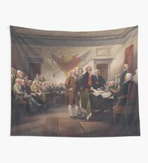Founding Fathers Signing Constitution  Wall Tapestry