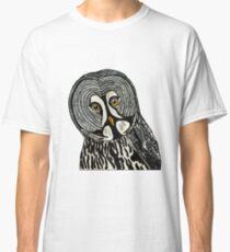 Great Gray Owl  Classic T-Shirt