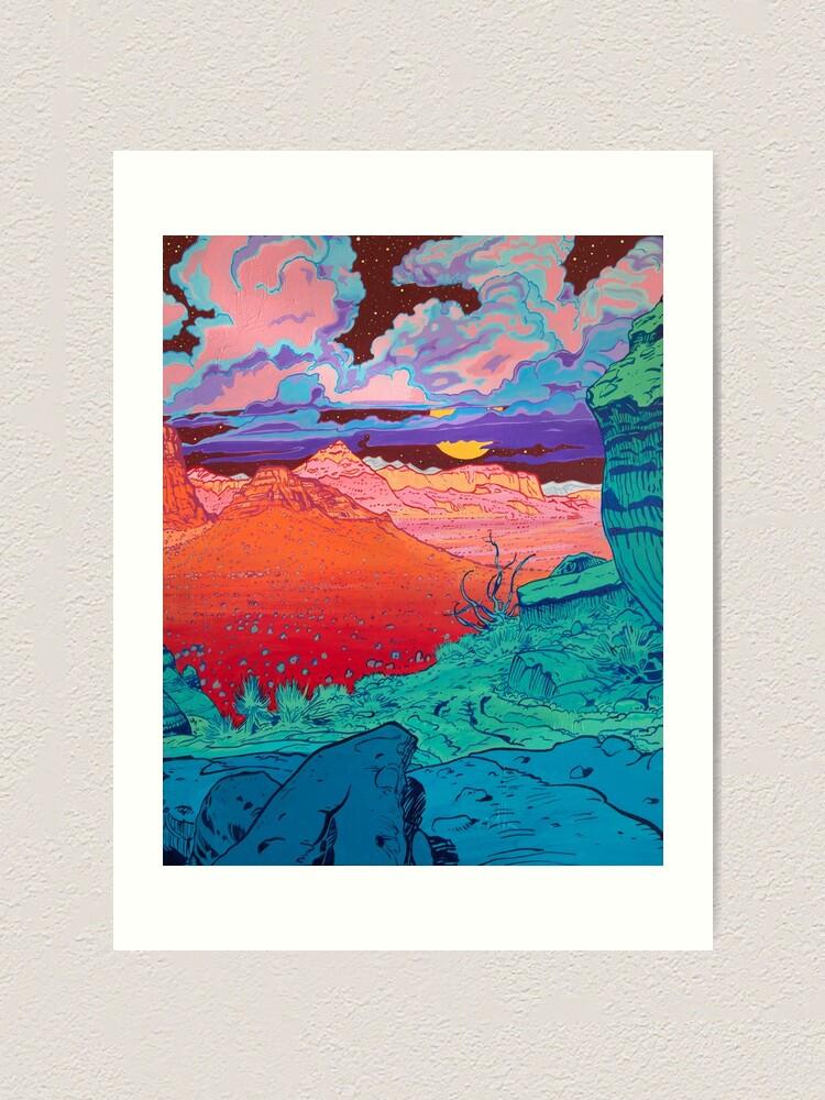 Alternate view of Pink Clouds 2 Art Print