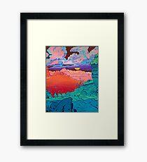 Pink Clouds 2 Framed Print