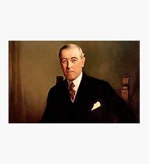 President Woodrow Wilson  Photographic Print