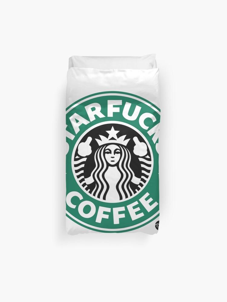 cb31529ba StarFucks Coffee Duvet Cover. StarFucks Coffee by D-AF-T