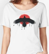 Chloe Price Black/Red Raven - Life Is Strange Before The Storm Women's Relaxed Fit T-Shirt