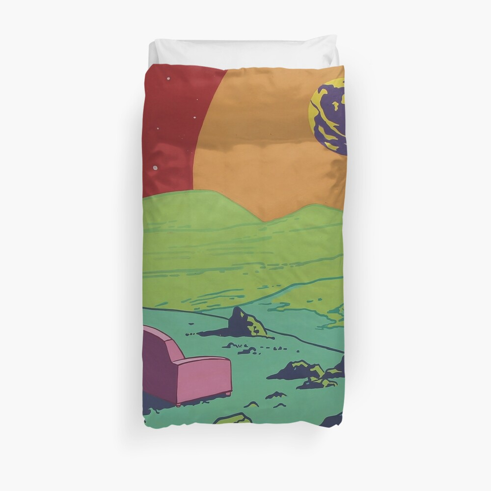 Pink Couch Duvet Cover