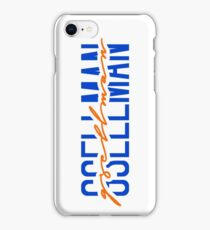 robert gsellman name font iPhone Case/Skin