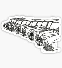 Classic Mini Outlines Sticker