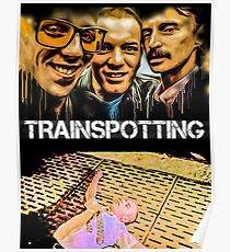trainspotting print Poster