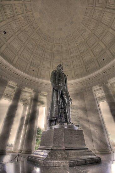 Jefferson Memorial by Shelley Neff