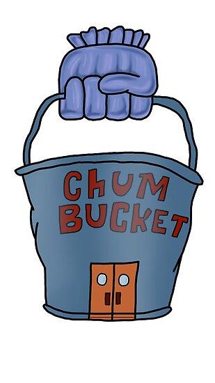 chum bucket posters by foliumdesigns redbubble