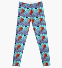 Faerie Flutter Bye Fairy Butterfly Pixie 1  Leggings