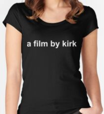 a film by kirk - GILMORE GIRLS: A YEAR IN THE LIFE Women's Fitted Scoop T-Shirt