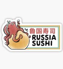 Russia Sushi Sticker