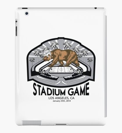 2014 LA Outdoor Game T-Shirt iPad Case/Skin