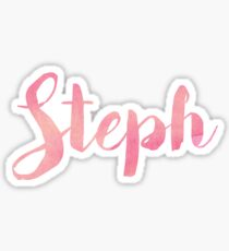 Steph Sticker