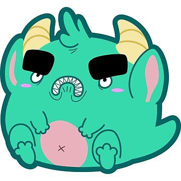 Angry Little Monster Guy by neekko