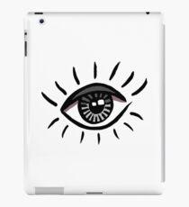Eye is bloodshot iPad Case/Skin