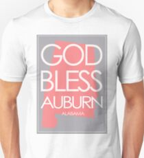 God Bless Auburn Alabama T-Shirt