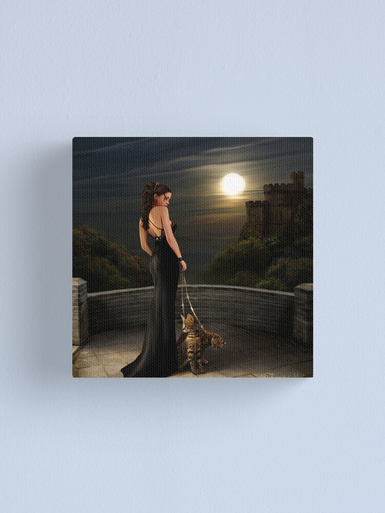 Alternate view of THE MUSES  Canvas Print
