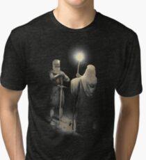 Camiseta de tejido mixto Punto muerto