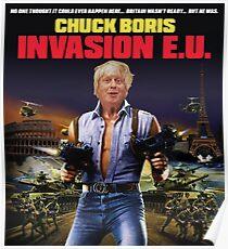 Boris Johnson - Chuck Boris T-Shirt Poster