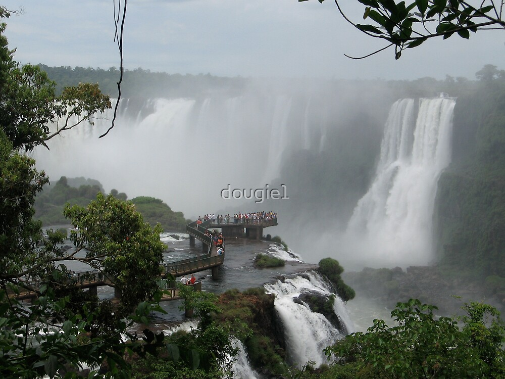 Iguazu Falls  South America by dougie1