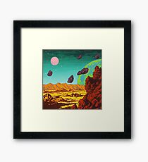 Spacescape Framed Print