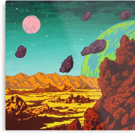 Spacescape by Adam  Springer