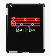 Make It Rain iPad Case/Skin