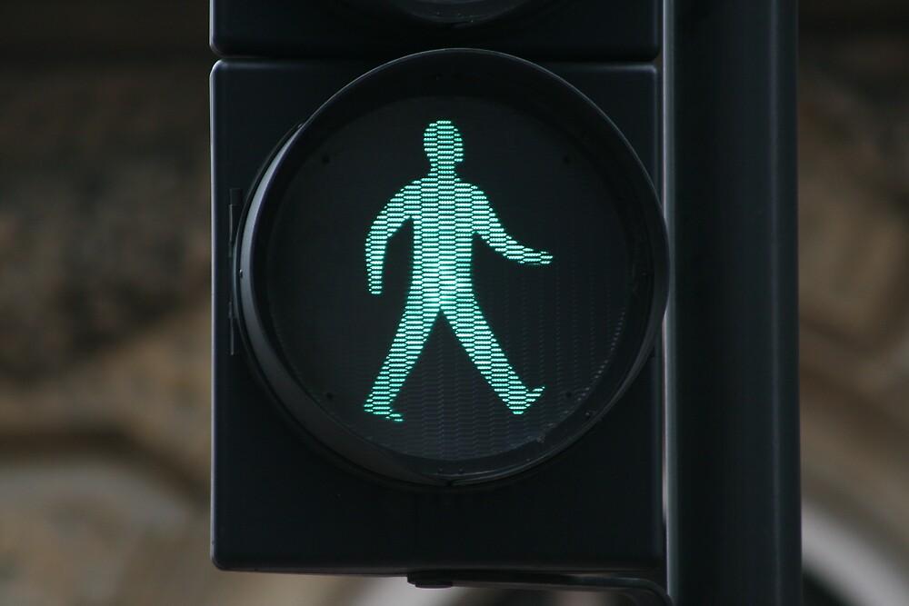Green Man - Walk by rubberduck