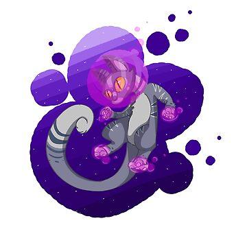 Space Cat by Switzy
