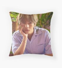 Taehyung Love Yourself Throw Pillow
