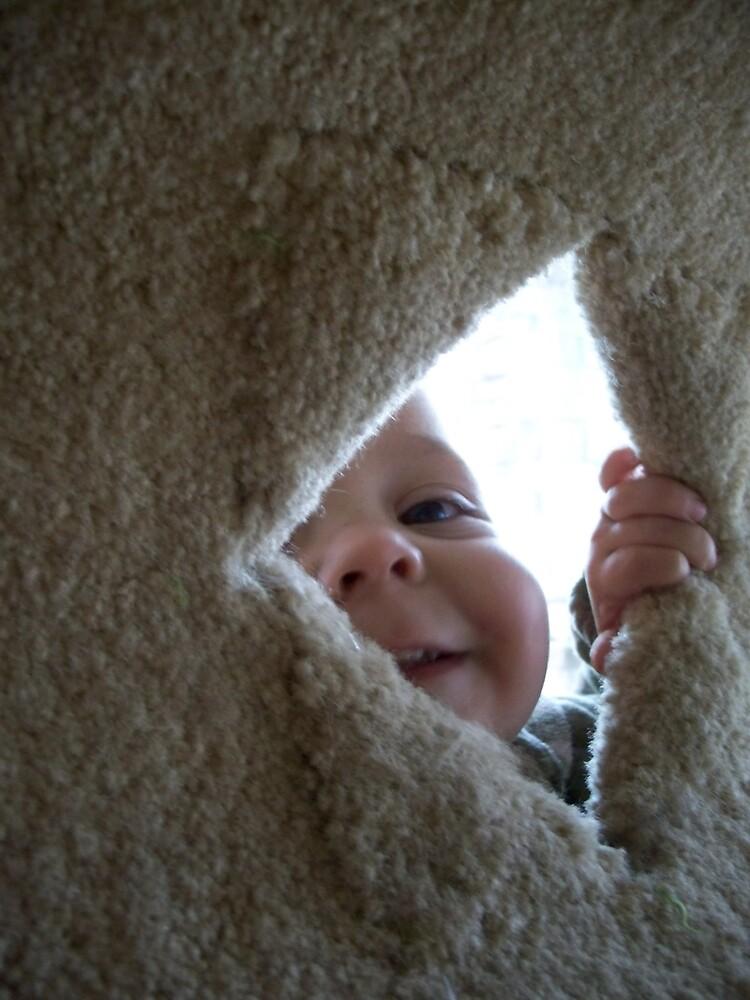 Peek-a-boo! by slobberslinger