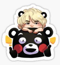 Kuma-Min Yoongi Sticker